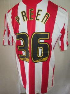 Garyn-Preen-Southampton-2009-2010-signed-Match-Worn-Football-Shirt-Med-11386