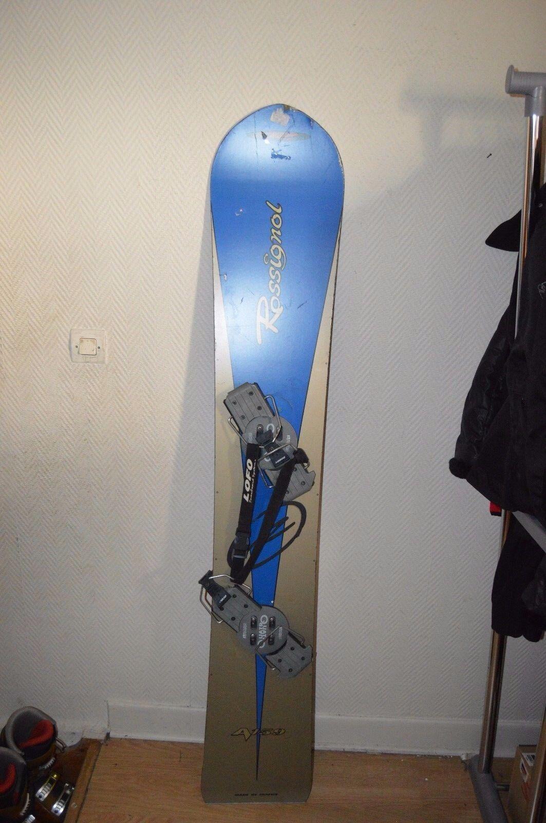 Lámina Snowboard Rossignol A159 Camiseta 159cm + Ajuste Emery Quatro Snow Board