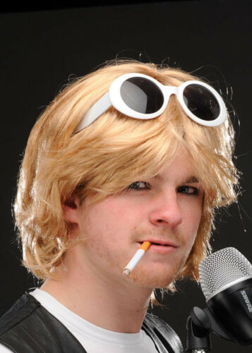 Grunge Guy Kurt Cobain Style Accessory Kit with Wig