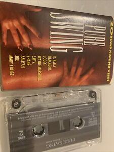 Various Pure Swing 20 Bump n' Grind Vibes CASSETTE ALBUM SOUL RnB/Swing vol 1