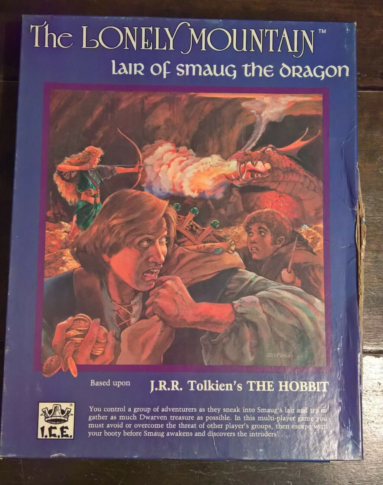 The Lonley Mountain  The Hobbit   I.C.E.   Unpunched     Ultra RaR      Fantasy