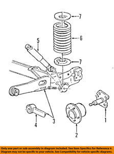 95 windstar engine wiring diagram ford oem 95 97 windstar rear suspension hub assembly f58z1109a ebay  ford oem 95 97 windstar rear suspension