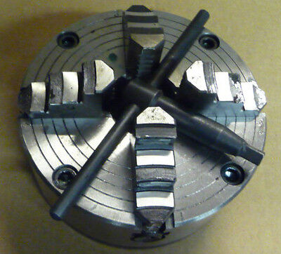 Clarke 4 JAW INDEPENDENT for CL500M Metal  Lathe CHUCK  engineering workshop