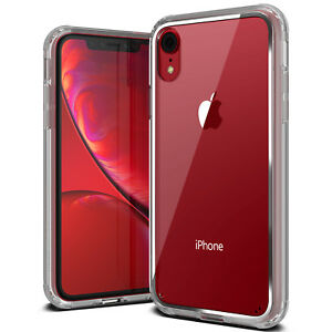 For-Apple-iPhone-X-Xs-Xs-Max-XR-Case-VRS-Crystal-Chrome-Clear-Slim-Back-Cover