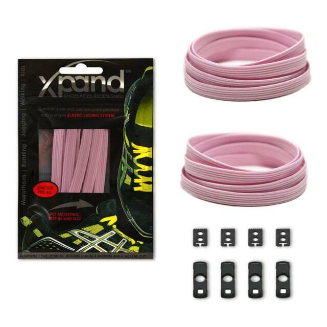 Xpand Laces - Original No Tie Elastic Shoe Laces - Pastel Colours