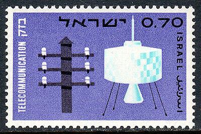 Jahrhundert Telegraph Pole Syncom Satelliten Mnh Itu Clever Israel 294 1965 StäRkung Von Sehnen Und Knochen