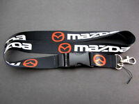 Mazda Lanyard Keychain Quick Release Mazdaspeed Rx7 Rx8 Miata Mx5 13b - Bk