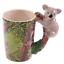 thumbnail 57 - Animal Shaped Handle Ceramic Mug Tea Coffee Cup Novelty Gift Jungle Tropical