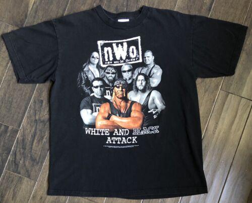 Vintage WCW NWO Hollywood Hulk Hogan White And Bla