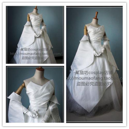 hot !Final Fantasy XV Lunafreya Nox Fleuret Luxury Wedding dress Cosplay