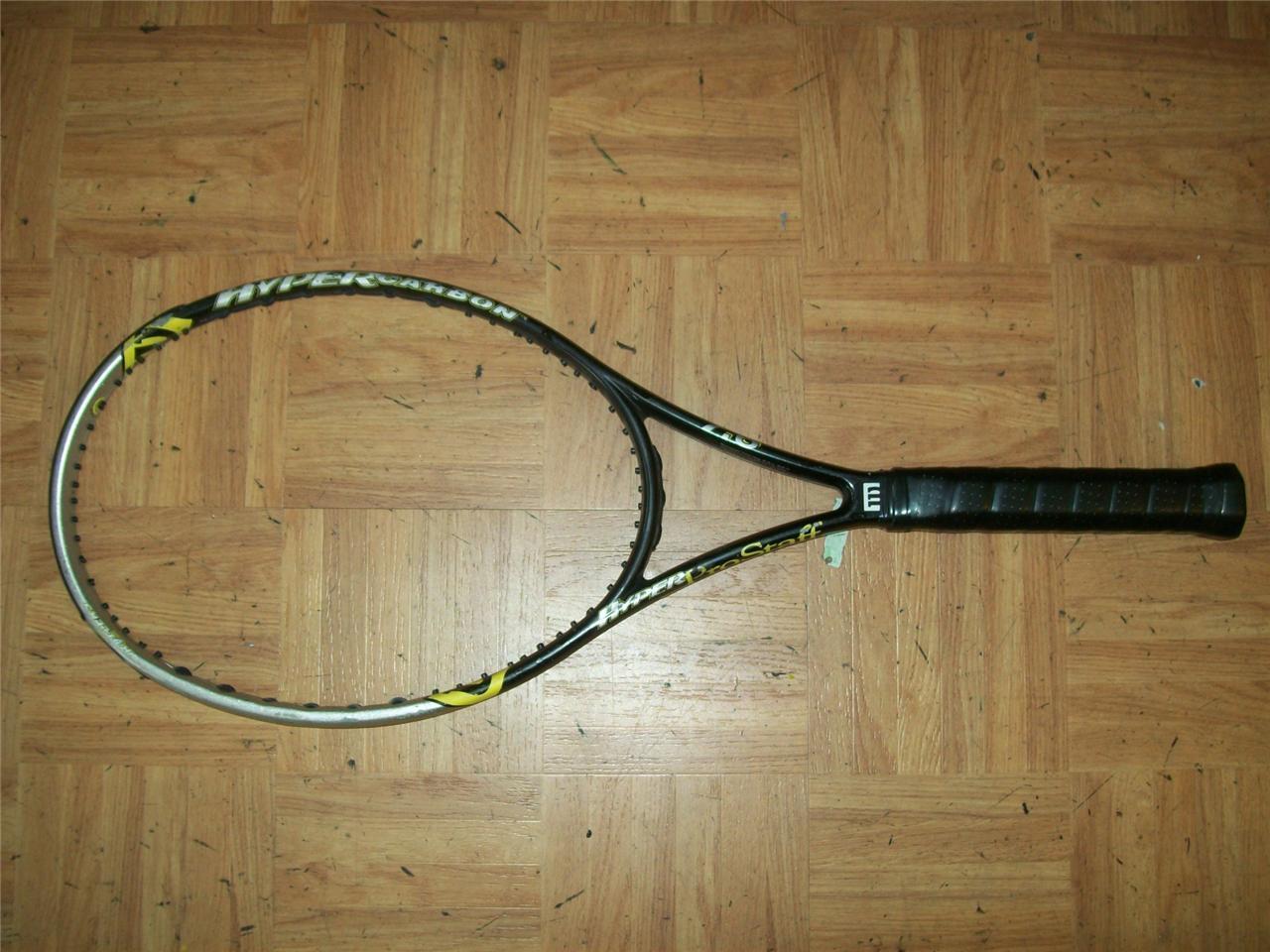 Wilson Hyper Pro Staff 7.6 Midplus 98 4 1 2 grip Tennis Racquet