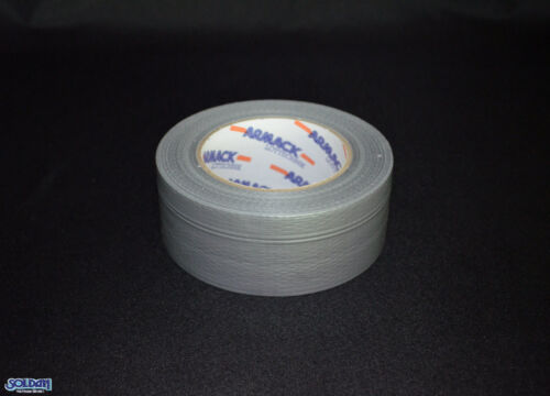 Tape Reparaturband Silber Steinband Panzertape 45m x 48mm 175mµ Gewebeband