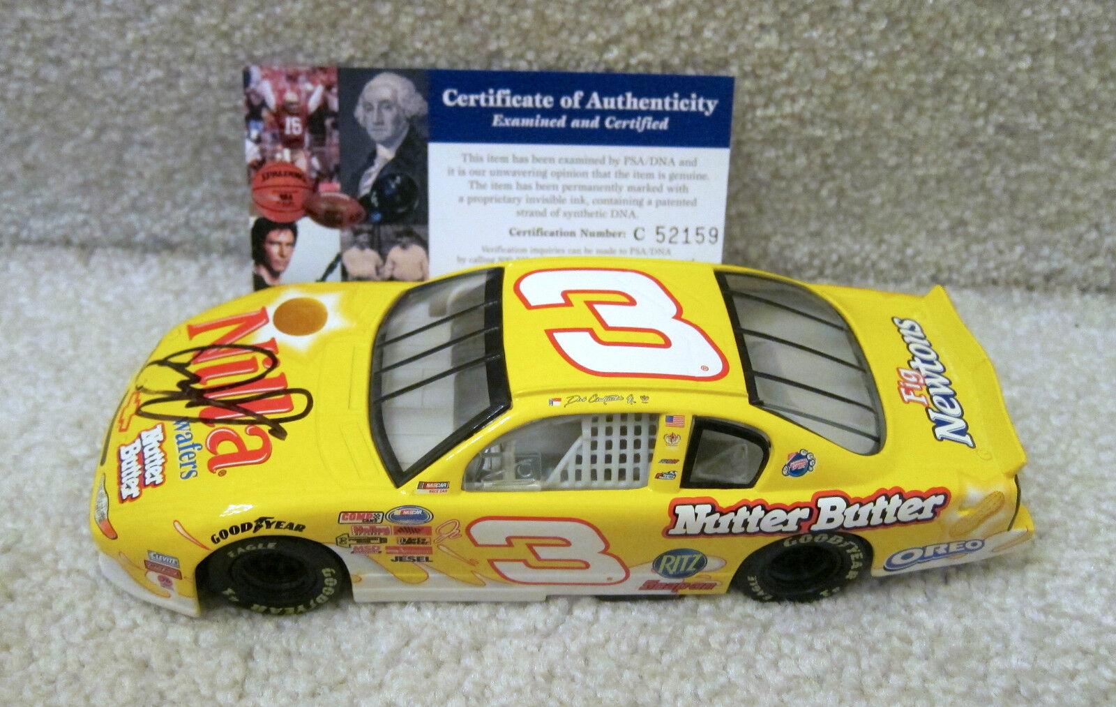 2002 Dale Earnhardt Jr AUTOGRAPHED PSA DNA Nilla Wafers Nutter Butter Monte