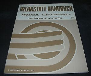 Werkstatthandbuch-Honda-Legend-ab-Baujahr-1987-Konstruktion-und-Funktion