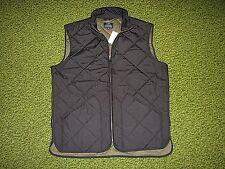 $150. Men's Black Quilted Vest (XL) J. CREW