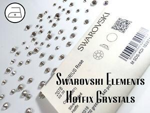 bda1fd6aad3791 100% Genuine Swarovski Crystals 2038 2078 Newest Cut Hotfix Sizes ...