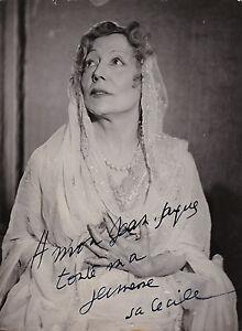 Cecile-Sorel-Andromaque-Salle-Pleyel-Original-Vintage-1937