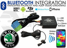 CTASKBT001 Skoda Bluetooth streaming adapter handsfree calls AUX iPhone Samsung
