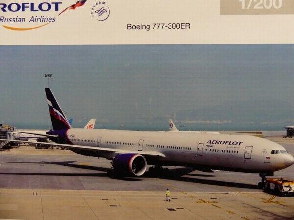 1 200 Herpa Aeroflot BOEING 777-300er M. Kutuzov 556552 prezzo speciale  52.99