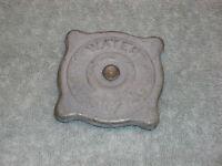 1933-6 Chrysler/desoto/dodge/plymouth/reo. Radiator Cap. Nos.