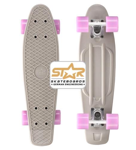 STAR-SKATEBOARDS Vintage Cruiser Board completamente Bambini Adulti60mm