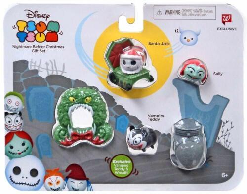 Disney Tsum Tsum Nightmare Before Christmas Gift Set New Walgreens Exclusive