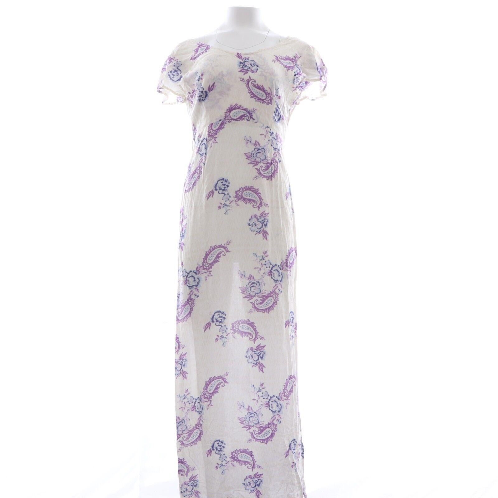Tallow Lightweight Floral Maxi Dress White 6