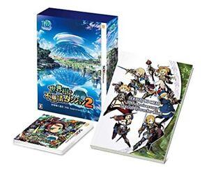 NEW-Nintendo-3DS-Sekaiju-to-Fushigi-no-Dungeon-2-10th-Anniversary-BOX-JAPAN-game