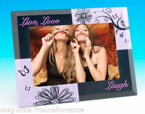 Elegant-Glass-Black-and-Turquoise-Best-Friend-Live-Love-Laugh-Photo-Frame-Gift