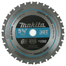 Makita A-95037 5-3/8-in 30T Carbide-Tipped Metal Cutting Saw Blade