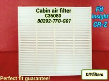C36080 CABIN AIR FILTER Fit Insight CR-Z 2009 & NEWER CF11182   800143P
