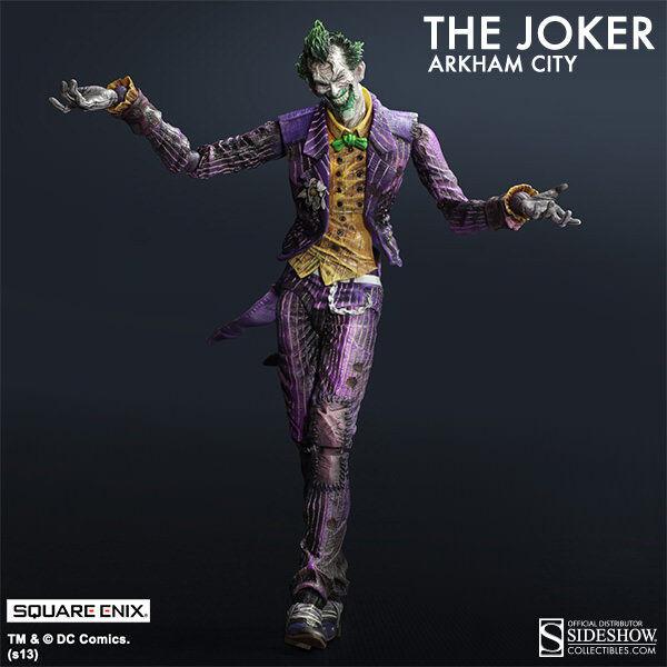 Batman Arkham City Play Arts Kai The Joker Action Figure Square Enix