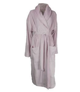 Ex M S Ladies Super Soft Velour Dressing Gown UK 8 10 - 20 22  2ec56d109