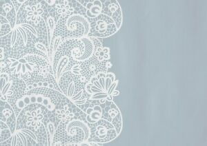 A1-Grey-Floral-Lace-Doily-Poster-Art-Print-60-x-90cm-180gsm-Cool-Gift-15107