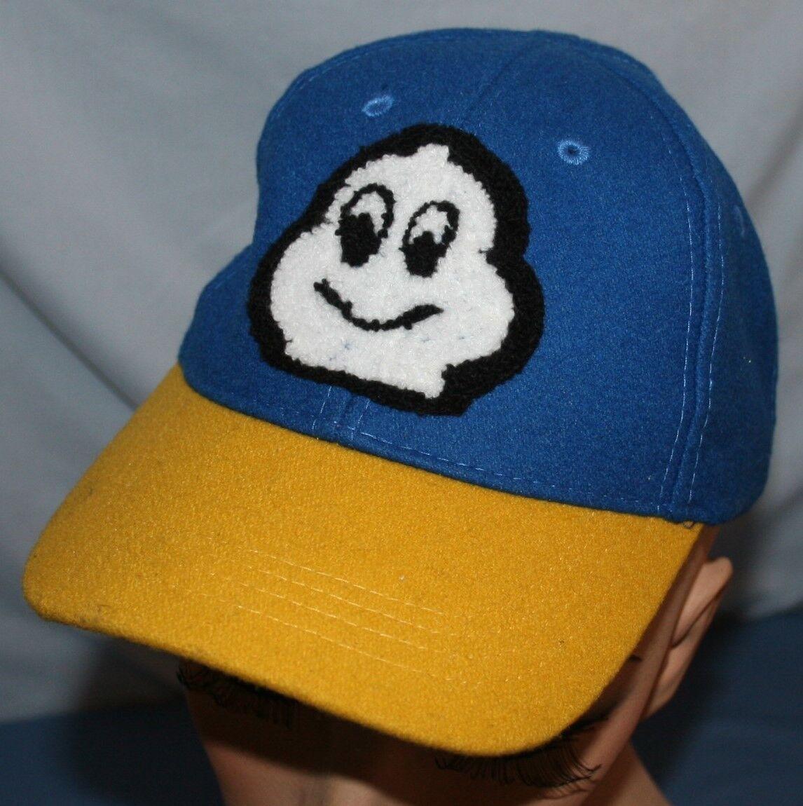 Michelin Man Baseball tires Adjustable Back Cap Baseball Man Hat Wool Blend Chenille b4a9a4