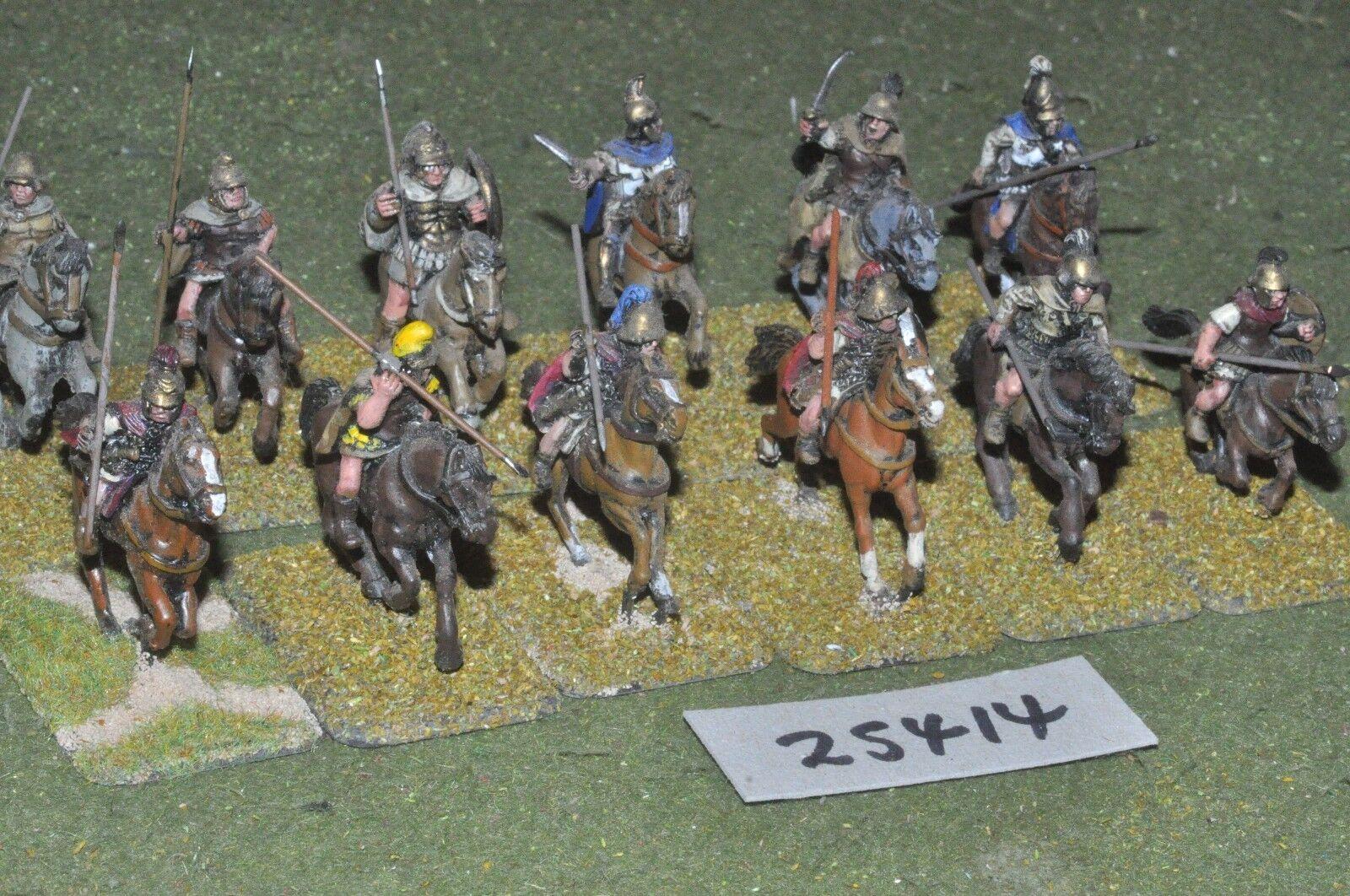 25mm classical   greek - heavy 12 figures - cav (25414)