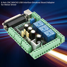 Diy Engraving Machine Mach3 Usb Cnc 6 Axis Interface Breakout Board Adapter
