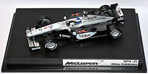 McLaren Mercedes MP4-15 Formula1 2000 #1 Mika Häkkinen 1:43 Hot Wheels 26750