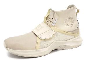 meet fabcf e6f0f Details about Fenty Puma by Rhianna Ignite High Trainer Sneaker Womens 10  Off White Ivory
