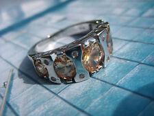 Vintage stylish mondän ART DECO fantastischer Ring 925 Konstruktivismus Bauhaus