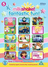 Milkshake Fantastic Fun! DVD - Channel 5 Childrens Peppa Pig, Paw Patrol **NEW**