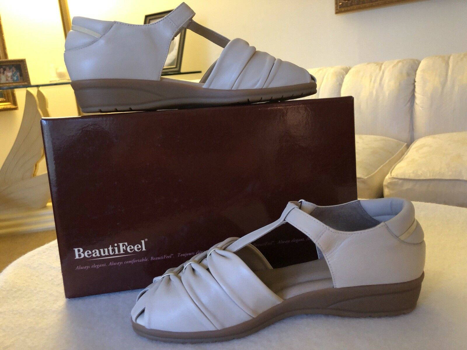 BeautiFeel Designer shoes, Made in Israel, Brand Brand Brand New in Box, 40 M, FREE SHIPPING d7231b