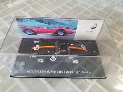 DECALS KIT 1//43 MASERATI A6 CGS 24h LE MANS 1954 N.28 PILOTI DE PORTAGO-TOMASI
