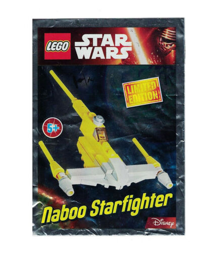LEGO ® Star Wars ™ Naboo Starfighter VAISSEAU polybag Limited Edition 911609
