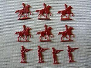 Figurines-publicitaires-Lot-de-10-soldats-anglais-de-couleur-rouge-AIW