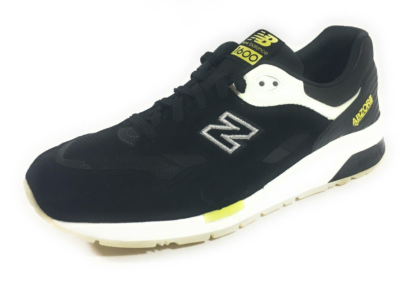 New Balance 1600 Elite Edition Solarized shoes Mens Size 11 Black CM1600EC