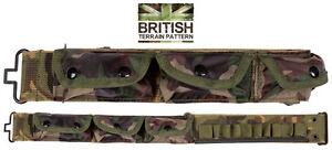 Army-Combat-Military-Utility-Pocket-Bum-Bag-Pack-Waist-Shell-Belt-Day-Travel-New