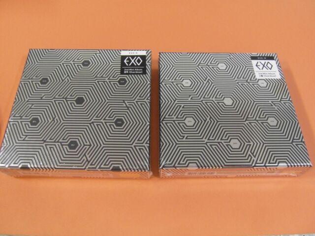 EXO - Overdose (EXO-K CD + EXO-M CD) SET +TWO Unfold POSTER