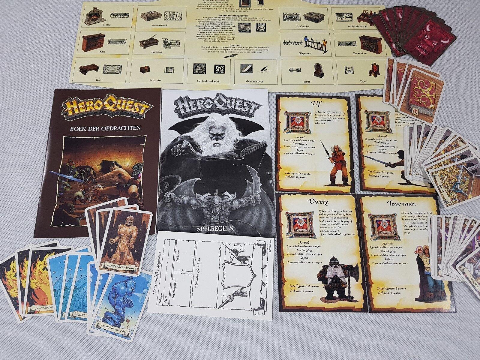 HeroQuest Language Pack - Dutch Hero Quest [1989]