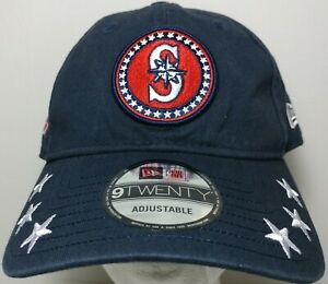 outlet store 5001b 9ce2f Image is loading Seattle-Mariners-Navy-Blue-2018-All-Star-Game-